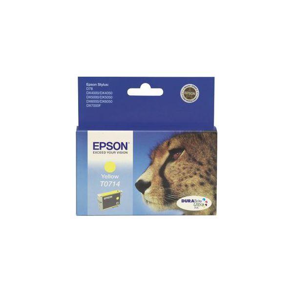 Tinta EPSON T0714 Yellow