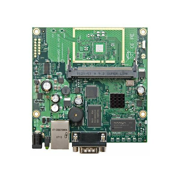 MikroTik RouterBOARD with One Mini-PCI One Ethernet
