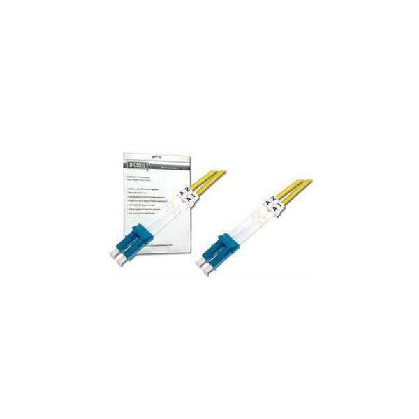 Digitus LC-LC SM Duplex Fiber Optic Patch Cord, 5m