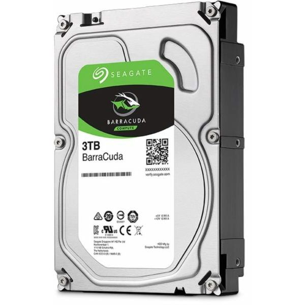 Seagate HDD, 3TB, 5400rpm, SATAII, 256
