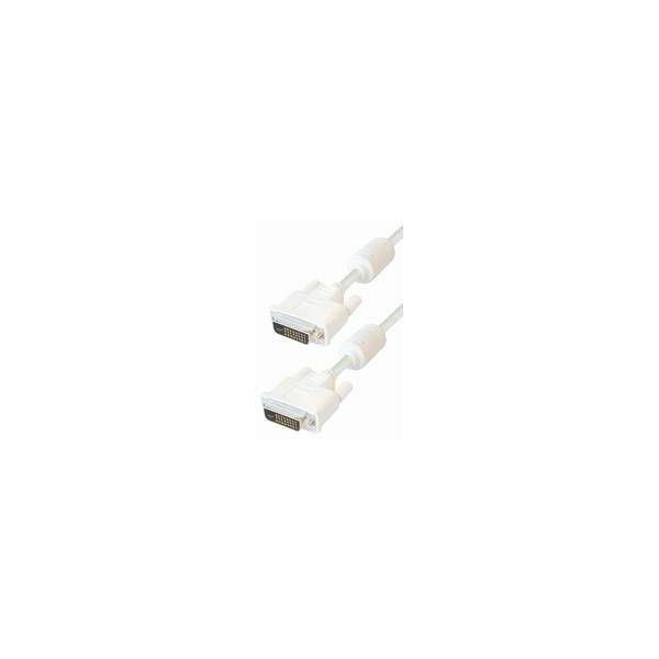 Transmedia Monitor Cable DVI 24p, 1,8m