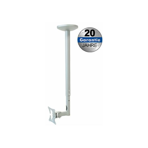 Transmedia Height-adjustable suspension bracket for LCD 25-76cm, Silver
